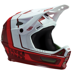 Bicycle helmet IXS Xult | ENDURO / DH | full face / FF | night red / white