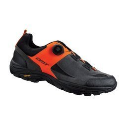 Buty rowerowe DMT F1 BOA VIBRAM MTB SPD grey / orange fluo / black