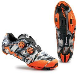 fdd7f591 Buty rowerowe NORTHWAVE Extreme XC CARBON MICHELIN camo / orange