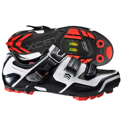 Buty rowerowe SHIMANO SH-XC61W CARBON white / black / red