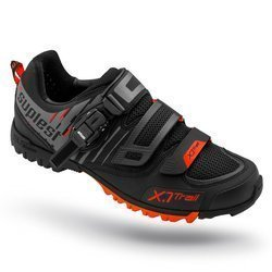 Buty rowerowe SUPLEST X.1 Trail OFFROAD black / red