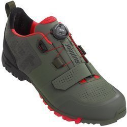 Buty rowerowe SUPLEST X.1 Trail PRO Edge 3 OFFROAD olive / neon red