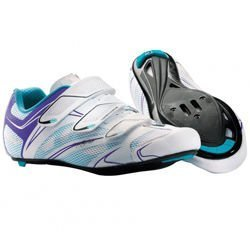 Damskie buty rowerowe szosowe NORTHWAVE Starlight 3S CARBON white/violet