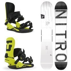 Deska snowboardowa NITRO T1 2019 SINTERED SPEED BASE 100% PARK TWIN