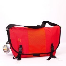 Duża wodoodporna torba kurierska TIMBUK2 Messenger Bag Classic Ballistic L | 27l | red / burnt orange / red