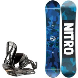 Juniorski zestaw NITRO 2021: snowboard Ripper Youth + Mini Charger S |  THE FIRST STEP TO HAPPINESS : )
