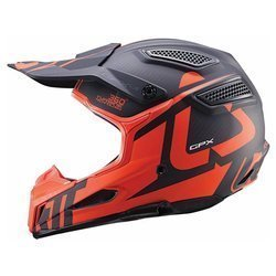 Kask na motor LEATT GPX 6.5 Carbon V16 OFF-ROAD carbon / orange