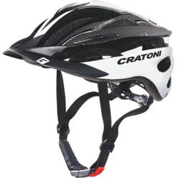 Kask rowerowy CRATONI Pacer white / black glossy