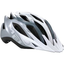 Kask rowerowy MET Crossover white / gray