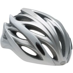 Kask rowerowy szosowy BELL Overdrive white / silver