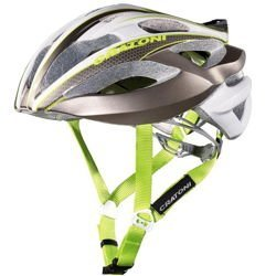 Kask rowerowy szosowy CRATONI C-Bolt 230g anthracite / white / lime glossy