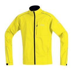 Kurtka rowerowa MTB GORE BIKE WEAR Bala WIND STOPPER Active Shell lemon