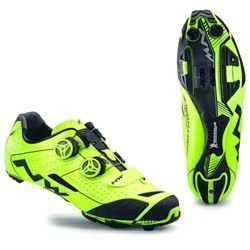 MTB XC Cycling Shoes NORTHWAVE Extreme XC 2018 yellow fluo