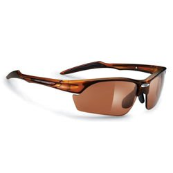Okulary rowerowe RUDY PROJECT Swifty Frozen Brown / Laser Brown