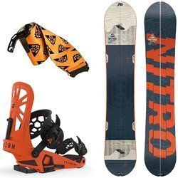 SET 2020: splitboard NITRO Nomad + bindings system & skins UNION Expedition
