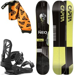 SET 2021/2: splitboard CAPITA Neo Slasher 164cm + UNION Explorer Bindigns size L & KOHLA skins
