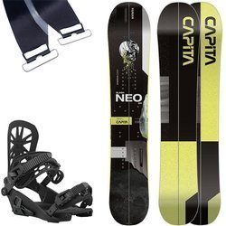 SET 2021: splitboard CAPITA Neo Slasher + UNION Expedition Bindigns & KOHLA Peak skins
