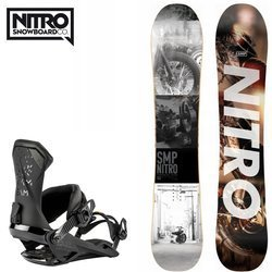 SET NITRO 2020: snowboard SMP + bindings Team