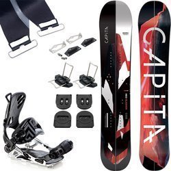 SET: splitboard CAPITA Neo Slasher 164cm + bindings SP / PATHRON GT Split Multientry L / XL + skins KOHLA Peak
