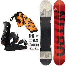 SET: splitboard NITRO Nomad + bindings system + skins UNION Expedition 2019