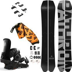SET: splitboard PATHRON Carbon Powder + bindings system + skins UNION Expedition FC 2019