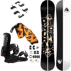 SET: splitboard PATHRON Scratch + bindings system + skins UNION Expedition 2019