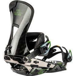 Snowboard bindings NITRO The Machine 2020 Black CARBON | Engineered Precision, Enhanced Performance