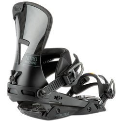 Snowboard bindings NITRO The Machine 2021 grey CARBON | CUSTOMIZABLE PRECISION AND PERFORMANCE