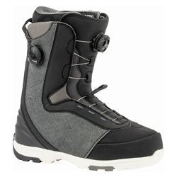Snowboard boots NITRO Club BOA Dual black 2020 | Convenient Support & Power