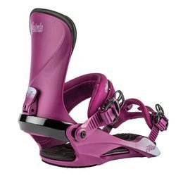 Women snowboard bindings NITRO Cosmic Ultra Violet 2020 | Space Aged Fit & Comfort