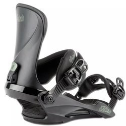 Women snowboard bindings NITRO Cosmic ultra black 2021 | THE FUTURE OF COMFORT