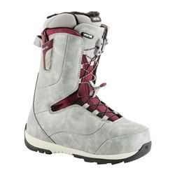 Women snowboard boots NITRO Crown TLS grey 2019 | Royally Comfortable