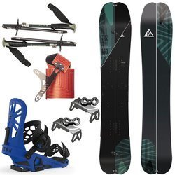 ZESTAW 2020: splitboard NITRO Doppleganger + foki & kiije BLACK DIAMOND + system wiązań UNION Expedition + harszle