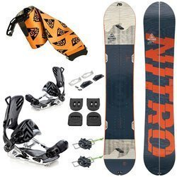 ZESTAW 2020: splitboard NITRO Nomad + wiązania SP / PATHRON GT Split Multientry sLAB + VOILE + foki UNION Expedition