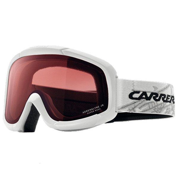 ad4ca7ba73e Dziecięce gogle CARRERA Adrenalyne Jr white   szybka  super rosa ...