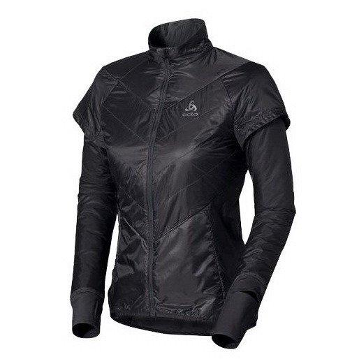 042ac440e7a37 Ultra lekka damska kurtka ODLO Loftone Primaloft Jacket Women 670081 black- odlo / graphite grey 280g! | WINTER \ CLOTHING \ JACKETS ALL YEAR \ FITNESS  ...