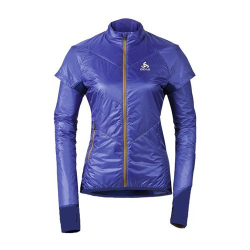 355f9943ee82e Ultra lekka damska kurtka ODLO Loftone Primaloft Jacket Women 670081 purple  indigo 280g!