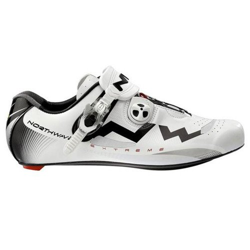 Buty rowerowe szosowe NORTHWAVE Extreme Tech full CARBON white / black