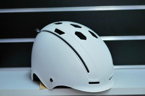 Juniorski kask rowerowy SK8 BMX CASCO Fun Generation white matt | UNI 50-56cm