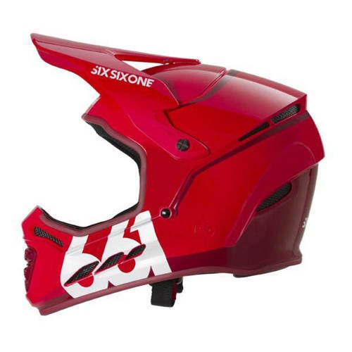 Kask rowerowy SIXSIXONE 661 Reset | DH ENDURO full face | matador red