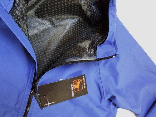 Kurtka rowerowa GIORDANA Sympatex Taped Waterproof Cycling Jacket blue