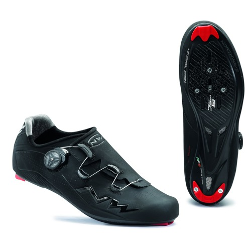 Road cycling shoes NORTHWAVE Flash CARBON black