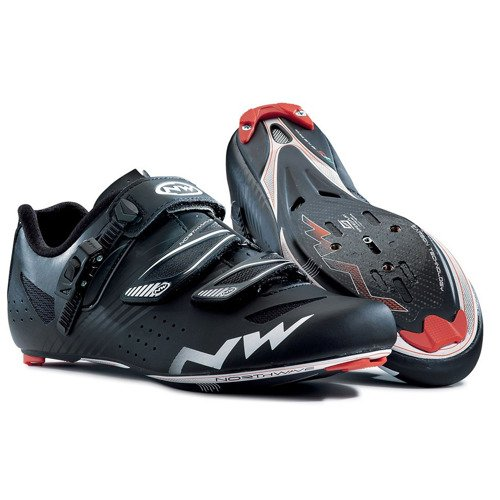 Road cycling shoes NORTHWAVE Torpedo SRS CARBON black