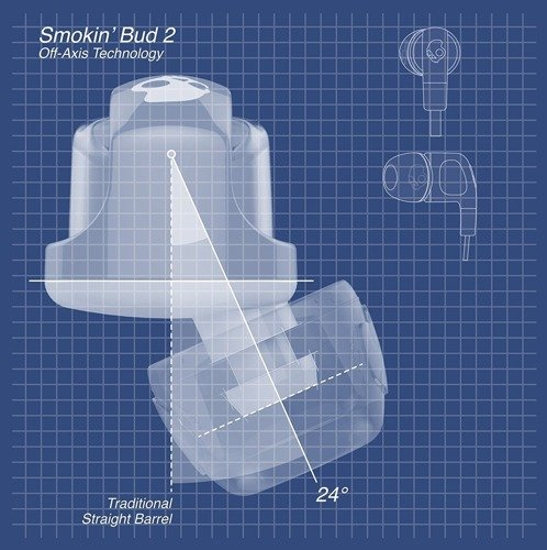 Słuchawki z mikrofonem SKULLCANDY Smokin Buds 2 S2PGGY-391 spaced out clear black