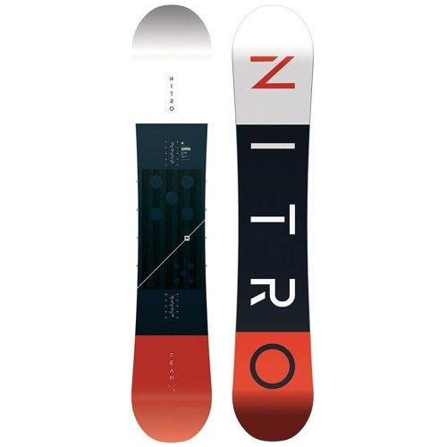 Snowboard NITRO Team CAMBER WIDE 2020 | Trusted & Approved By Snowboarders Everywhere!