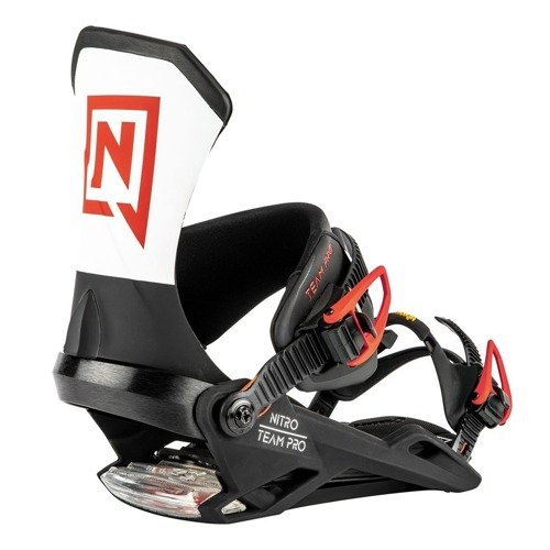 Snowboard bindings NITRO Team PRO Icon 2020 | Designed and Tested By The Best
