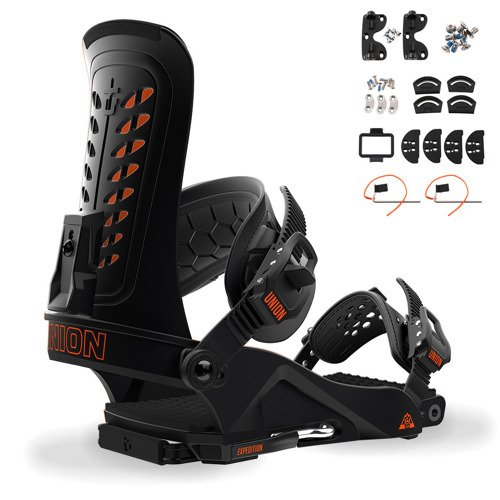 Splitboard bindigns UNION Expedition 2019 black
