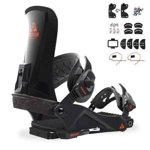 Splitboard bindings UNION Expedition FC 2018 BACKCOUNTRY CARBON