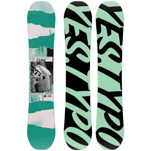 Used snowboard YES Typo 2020 | 158cm