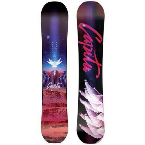 Women snowboard CAPITA Space Metal Fantasy 2018 145cm